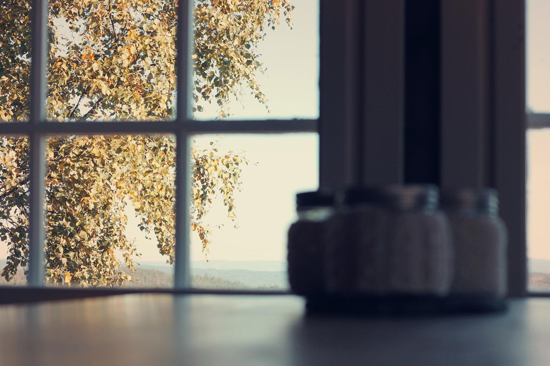 Overlooking Drafty Kitchen Windows